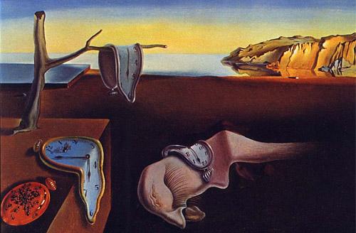 """""""A Persistência da Memória"""" - Salvador Dali"""