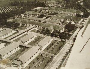 Vista aérea do asilo-colônia Aymorés