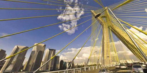Panorama da Ponte Estaiada by Dudu Tresca (www.br360.com.br)