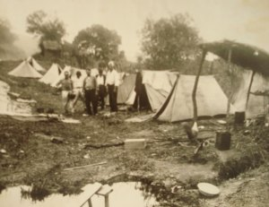 Acampamento de leprosos em Pirapora do Bom Jesus-SP