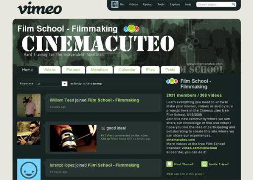 Film School - Filmmaking